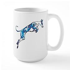 Ib in motion (blue) Mug