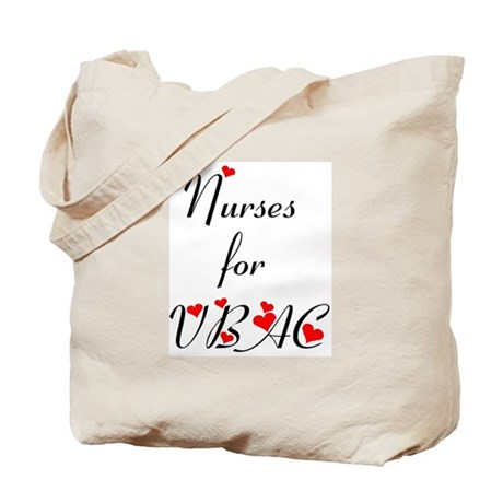 Nurses for VBAC Tote Bag