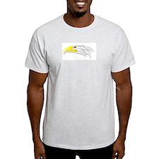 Tribal Bald Eagle Art 3 Ash Grey T-Shirt