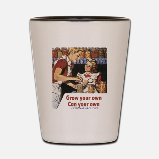 Can your own transparent Shot Glass