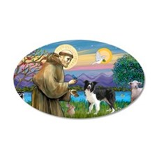 LIC-St Francis - Border Coll Wall Decal