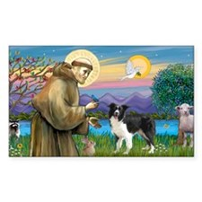 LIC-St Francis - Border Collie Decal