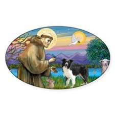 LIC-St Francis - Border Collie stan Decal