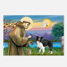 LIC-St Francis - Border C Postcards (Package of 8)