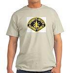 Plumas Sheriff Ash Grey T-Shirt
