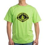 Plumas Sheriff Green T-Shirt