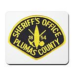Plumas Sheriff Mousepad