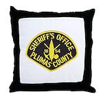 Plumas Sheriff Throw Pillow
