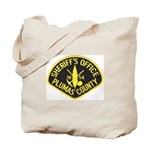 Plumas Sheriff Tote Bag