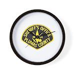 Plumas Sheriff Wall Clock