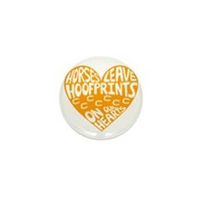Hoofprints Mini Button