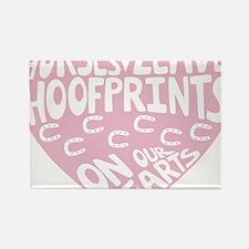 Hoofprints Rectangle Magnet