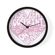 Hoofprints Wall Clock