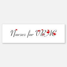 Nurses for VBAC Bumper Bumper Bumper Sticker