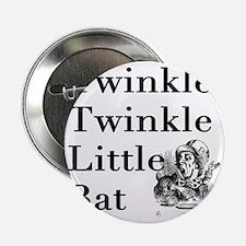"""Mad Hatter- Twinkle Twinkle Little Ba 2.25"""" Button"""