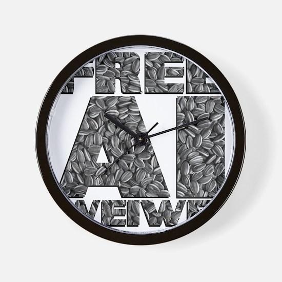 Free Ai Weiwei Wall Clock