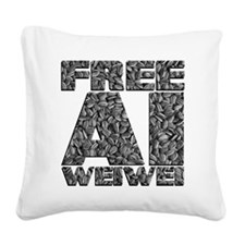 Free Ai Weiwei Square Canvas Pillow