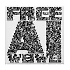 Free Ai Weiwei Tile Coaster