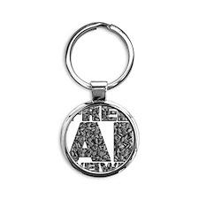 Free Ai Weiwei Round Keychain