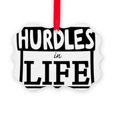 Hurdles Ornament