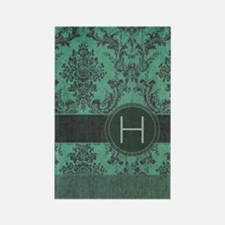 443_slider_monogram_H_02 Rectangle Magnet