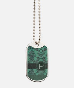 443_slider_monogram_P_02 Dog Tags