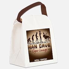 mancave Canvas Lunch Bag