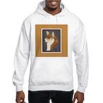 Corgi Head Study Hooded Sweatshirt