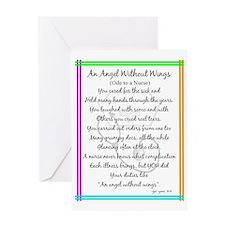Nurse Poem Greeting Card