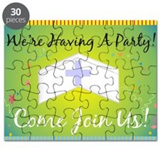 Nurse party Generalized BLUE Yellow Puzzle