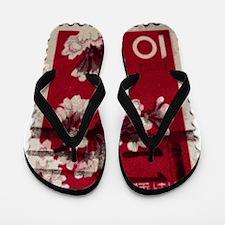 flowers Flip Flops