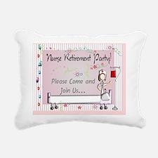Nurse Retirement Party I Rectangular Canvas Pillow