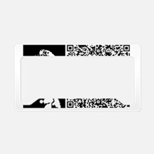 BUDDHA_SECRET_O_EXISTENCE License Plate Holder