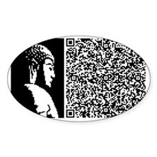 BUDDHA_SECRET_O_EXISTENCE Decal