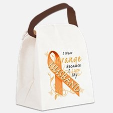I Wear Orange Because I Love My H Canvas Lunch Bag