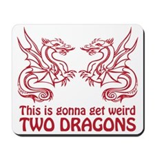 Two Dragons Mousepad