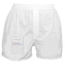 Punk-Ass Book Jockey Boxer Shorts
