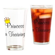 Princess In training Drinking Glass