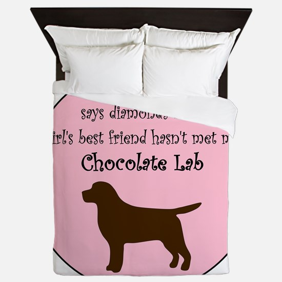 GBF_Lab_Chocolate Queen Duvet