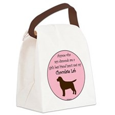 GBF_Lab_Chocolate Canvas Lunch Bag