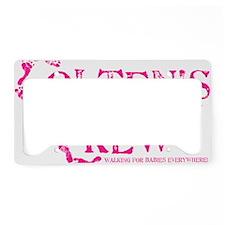 COLTENS CREW_PINK License Plate Holder
