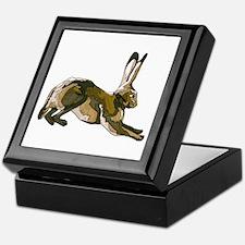 Hare (brown) Keepsake Box