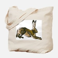 Hare (brown) Tote Bag