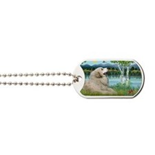 LIC-Birches-Great Pyrenees Dog Tags