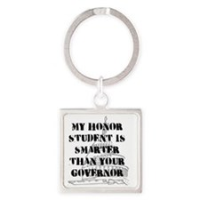 HONOR Square Keychain