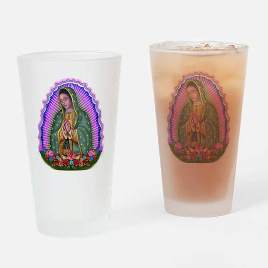 Lady of Guadalupe T4 Drinking Glass