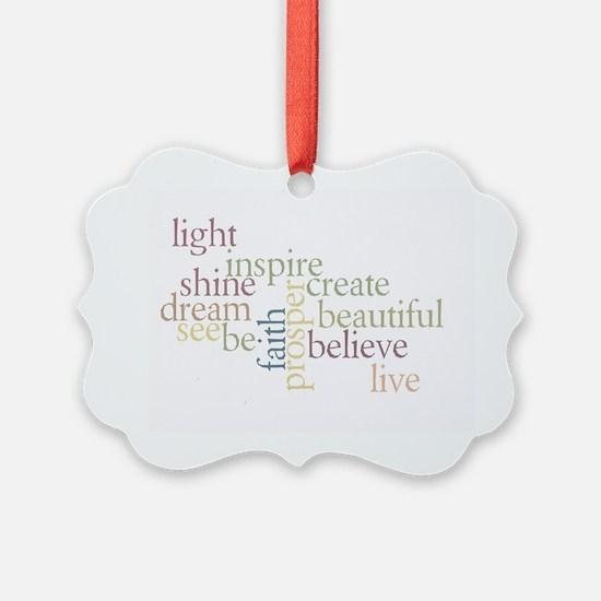 Faith Matters Ornament