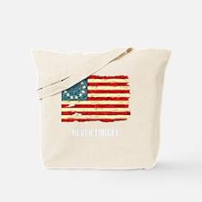 NF Old Glory-white Tote Bag