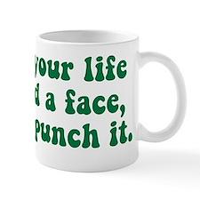 nov punch it Mug