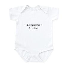 photographer's assistant Infant Bodysuit